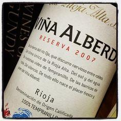 Viña Alberdi 2009, vino producido por las Bodegas La Rioja Alta, con denominación de origen La Rioja, un vino con total garantía de calidad.