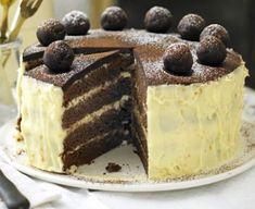 Chocolate, orange & almond simnel cake
