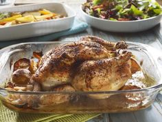 Cook up this simple recipe to roast a chicken perfectly, or use one of the half dozen variations at the end to create your own specialty.