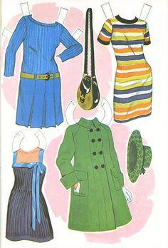Gallery.ru / Фото #63 - Бумажные куклы - Tawa