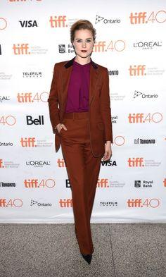 TIFF 2015 - Evan Rachel Wood in Gucci