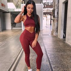 5f6b6c82c0c65 Sport Outfit Woman Sports Wear 2018 Women Gym Clothes Dry Fit Female  Fitness Gym Suit Active