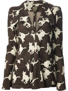 Shop Biba Vintage cat print trouser suit in Decades from the world's best independent boutiques at farfetch.com. Over 1000 designers from 60 boutiques in one website.