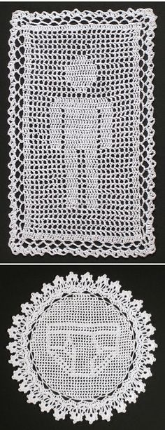nathan vincent - manly doilies!