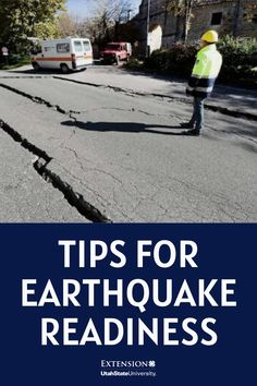 Tips for Earthquake Readiness Recent Earthquakes, Move Car, Federal Emergency Management Agency, Water Company, 72 Hour Kits, Family Emergency, Make A Plan, Fenced In Yard, Water Supply