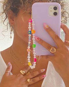 Bead Jewellery, Beaded Jewelry, Beaded Bracelets, Seed Bead Jewelry, Beaded Rings, Cute Jewelry, Diy Jewelry, Jewelry Making, Funky Jewelry