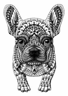 BIOWORKZ is a Graphic Artist and Freelance Illustrator providing professional artwork, designs, and illustrations. French Bulldog Tattoo, French Bulldog Art, French Bulldogs, French Bulldog Products, Tatou Animal, Bulldog Francés, Boston Terriers, Love French, I Love Dogs