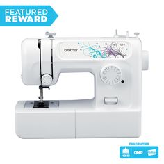 Buy Brother Sewing Machine online and save! This machine is designed with the beginner in mind. There's a DVD with step-by-step instructions for basic sewing, and two projects to get you started. Sewing Machine Online, Sewing Machine For Sale, Sewing Basics, Sewing For Beginners, Sewing Hacks, Sewing Projects, Sewing Equipment, Brother Sewing Machines, Glass Screen Protector