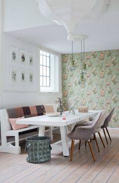 table de repas décoration scandinave design tendance