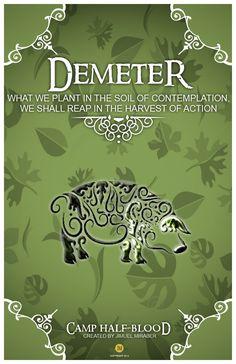 CHB Cabin Poster Demeter by jimuelmaurer26.deviantart.com on @DeviantArt