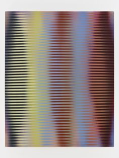 Roy Colmer 1972 acrylic on canvas 76 x 60 inches
