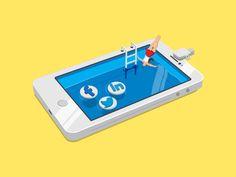 Social Media Addiction.. by Furkan Söyler