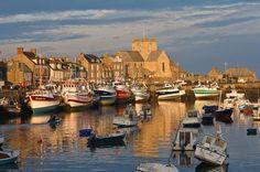 Barfleur near Cherbourg in Normandy, France.