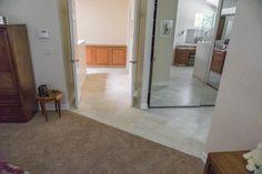 Master suite entrance, view out to 2nd floor landing. Bath design & remodeling by Danilo Nesovic, Designer · Builder (dndb.info)