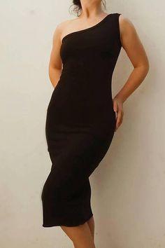 Vestido negro Tango espalda abierta