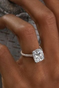 Fresh Engagement Ring Trends For 2018 ❤ See more: http://www.weddingforward.com/ring-trends/ #weddingforward #bride #bridal #wedding