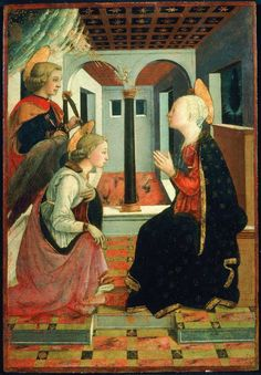 H-Prato, Museo Civico Fra Diamante e Filippino Lippi, Annunciazione e San Giuliano