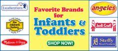 Favorite Brands for Infants & Toddlers Teacher Supply Store, Teacher Supplies, School Supplies, Discount School Supply, Infants, Teaching Resources, Toddlers, School Stuff, Young Children