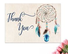 Enjoy designing beautiful images that inspire others! Thank You Printable, Printable Cards, Printables, Wedding Favors, Party Favors, Blue Dream Catcher, Love Tag, Party Signs, Beautiful Images