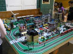 Lovely Lego Train Layout Lego City Train