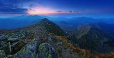 Evening in the Low Tatras, Slovakia by Matej Kovac