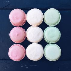 Macaroons by our chef of pastry Moris