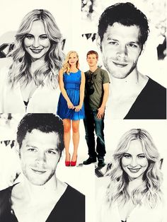 the vampire diaries, candice accola, and joseph morgan image