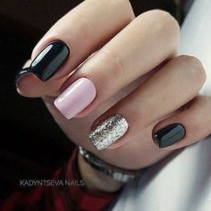 59 Stunning Winter Nail Colors And Designs – Page 22 - Hair and Beauty eye makeup Ideas To Try - Nail Art Design Ideas Manicure Colors, Gel Manicure, Nail Colors, Manicure Ideas, Nail Tips, Gorgeous Nails, Pretty Nails, Nail Art Halloween, Pink Nail Designs