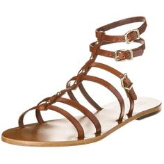 Mario Giordano Sandals ($175) ❤ liked on Polyvore