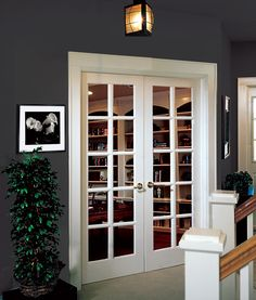 French Doors Are A Great Solution For Study