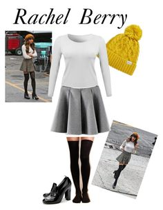 """Glee Rachel Berry (season 4)"" by prettylittlegleek01 ❤ liked on Polyvore featuring Rella, Hansel from Basel and Chanel"