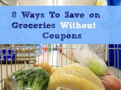 If couponing isn't your thing read these ideas to help you save money with smart shopping!