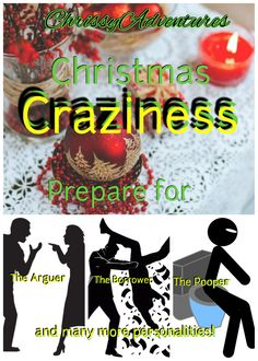 Everyone has these crazy personalities in their family. Mentally prepare for Christmas gatherings early! See how many of these are in your family…