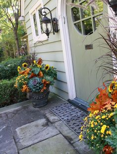 flores del sol: fall container planting II
