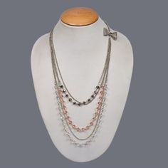Featuring this beautiful Glass Crystal Necklace in our  wide range of Necklines. Grab yourself one Now!