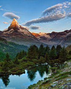 Matterhorn-Swiss-Alps