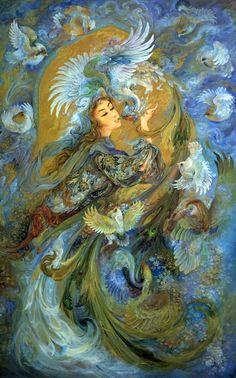 ♥♥ Etherial love♥♥ by Mahmoud Farshchian Iran
