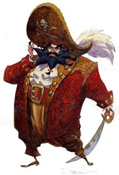 Steve Purcell pirate lechuk