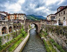 Asturia by Daniel Santos   View of the Potes village @ Asturias, Picos de Europa, Spain