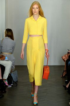 Emilia Wickstead Spring 2014 collection