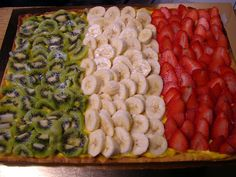 italian flag- so going to do this for a get together!