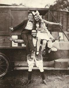 Charlie Chaplin, Douglas Fairbanks, Mary Pickford