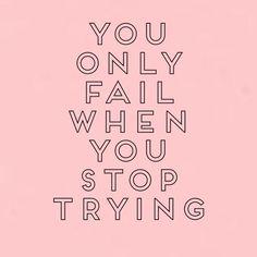 Reposting @natasjajorgensen: Never stop trying!  • • • #nevergiveup #youcanmakeithappen #motivation #positivethinking #youcandoit #inspirationalquotes #qoutes #entrepreneurmindset #goaldigger