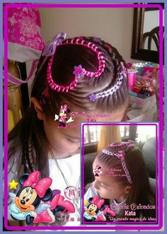 Disney Drawings, Hair Styles, Beauty, Avon, Image, Fashion, Warm Color Palettes, Child Hairstyles, Cute Hairstyles