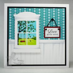 LOVE LIVES HERE by Tammie E - Cards and Paper Crafts at Splitcoaststampers