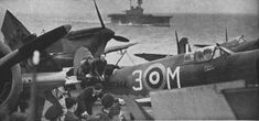 CV-7 U.S.S. Wasp on her second operation to ferry Spitfires to Malta 1942