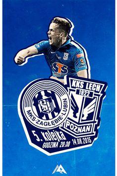 Match poster: Zagłębie Lublin vs Lech Poznań