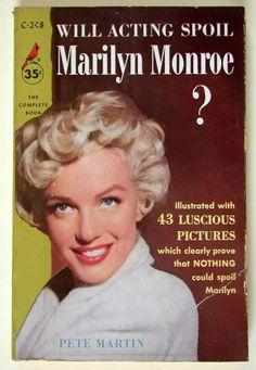 Vintage Marilyn book