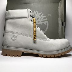 f39311419110 DS Timberland 6 Inch Premium Boot Grey Suede Size 13 Timberland 6 Inch