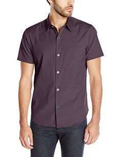 THEORY Theory Men'S Rammis S Osten Short-Sleeve Solid Shirt. #theory #cloth #